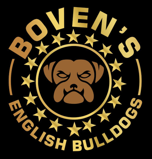Boven's English Bulldogs logo